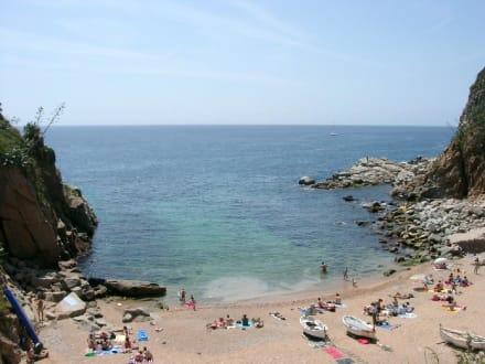 Kleine Bucht - Strand Tossa de Mar