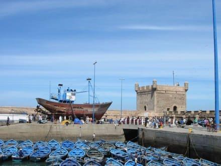Der Hafen von Essaouira - Hafen Essaouira
