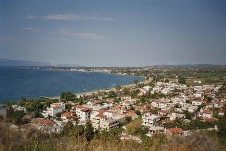 Blick auf Bucht von Pefki in Nord-Evia - Bucht von Pefki