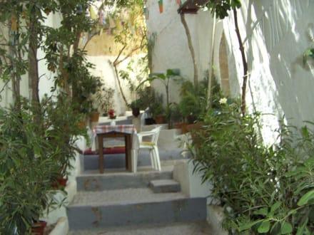 Eine der kleinen Gassen - Altstadt Dalt Vila Ibiza