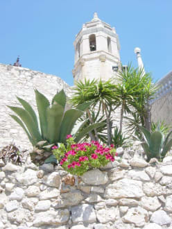 Kirche von Sitges - Kirche in Sitges