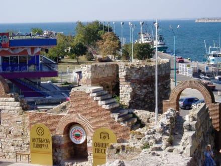 Hafen - Stadtmauer