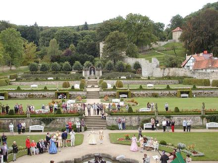 Barockgarten in Blankenburg (Harz) - Kleines Schloss Blankenburg
