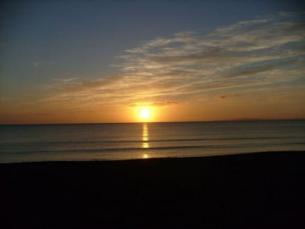 Sonnenuntergang am Ballermann - Strand Playa/Platja de Palma