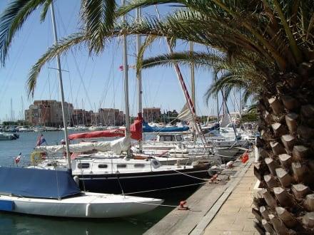 Yachthafen in Gruissan - Yachthafen Gruissan