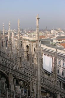 Auf der Dachterrasse des Mailänder Doms - Mailänder Dom
