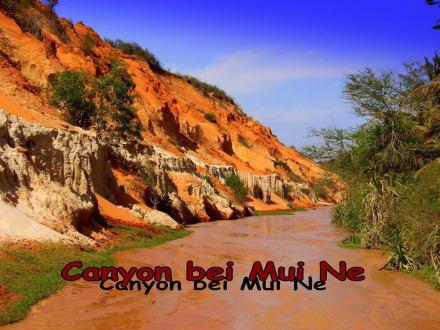 Barfuß unterwegs - Roter Canyon/Fairy Stream