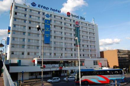 Ein geb ude zwei hotels bild ibis hotel paris porte de bagnolet in bagnolet gro raum paris - Hotel ibis porte de bagnolet ...