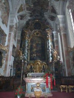 Altar mit Christkind - Kloster Metten