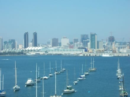 Blick von Coronado nach San Diego - Coronado Island