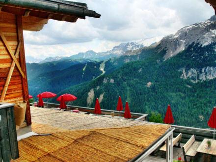 Hütte Col Pradat, Colfosco - Hütte Col Pradat