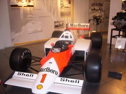 Formel 1 Bolide - Porsche Museum