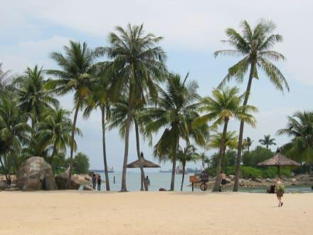 Siloso Beach /Sentosa Island - Strand Sentosa