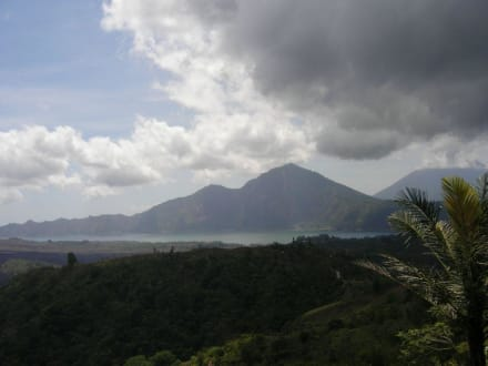 Der Batur See - Batur Vulkan