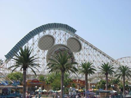 Achterbahn California Adventure - Disney's California Adventure Park