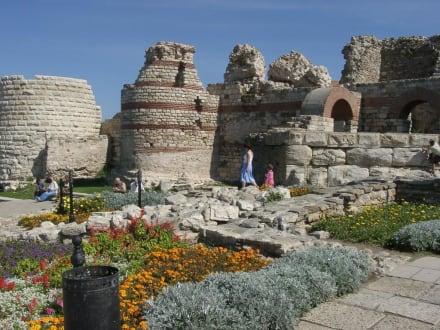 Weltkulturerbe in Nessebar - Stadtmauer