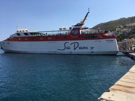 Ausflug auf die Insel Symi mit der Fähre.  - Insel Symi