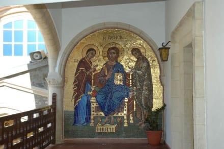 Ikone im Innenhof - Kloster Kykkos / Kykkou