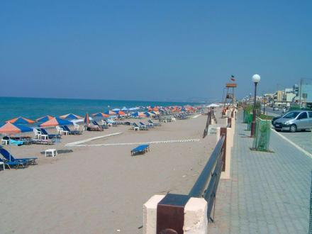 Strand und Promenade - Altstadt Rethymno