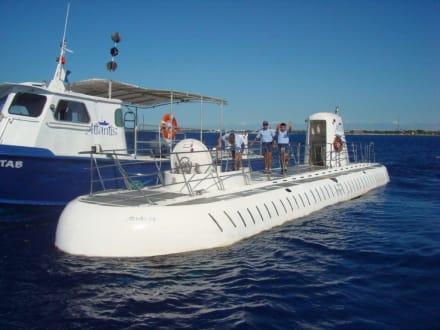 Abschied vom U-Boot - U-Boot Tour Atlantis Isla Cozumel