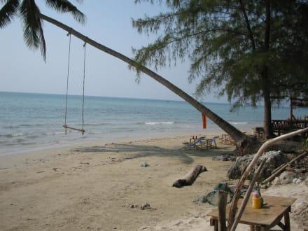Vor der Fisherman-Bar am Strand - Klong Phrao Beach
