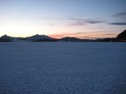 Sonnenuntergang am Hopfensee - Hopfensee