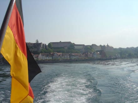 Überfahrt zur Insel - Insel Mainau
