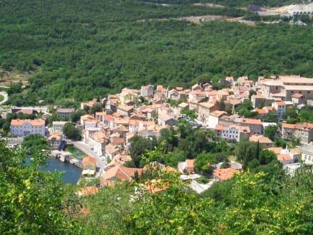 Blick auf Bakar (Nähe Rijeka) - Bakar