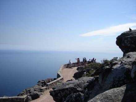Weg und Aussichtspunkt - Tafelberg