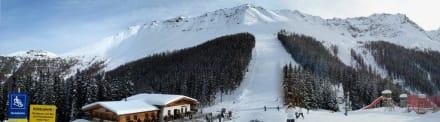 Panorama Skipiste Sattelklause - Skigebiet