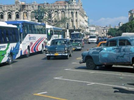 Straßenszene - Transport