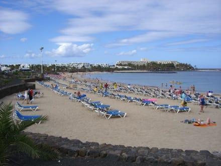Strand, wenige Gehminuten entfernt - Playa de las Cucharas