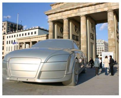 Das AUTOMOBIL am Brandenburger Tor - Brandenburger Tor