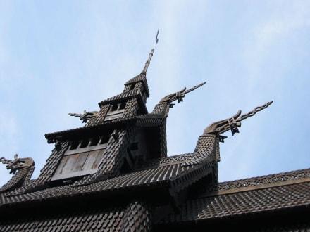 Stabkirche - Stabkirche Fantoft