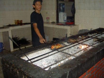 Grill im JBS - Jimbaran Bay Seafood (JBS)