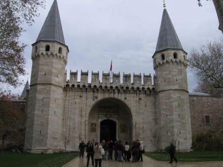 Topkapi-Palast Eingang - Topkapi-Palast