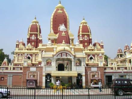 Der Lakshmi-Narayan Tempel - Lakshmi-Narayan Tempel