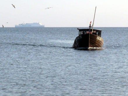 Fischer von Ahlbeck. - Strand Ahlbeck