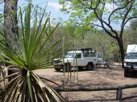 Campingplatz Wangi Falls - Litchfield National Park