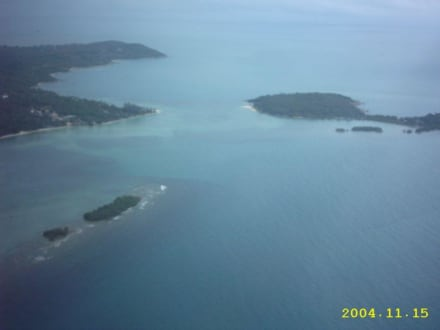 Luftaufnahme - Strände Koh Samui