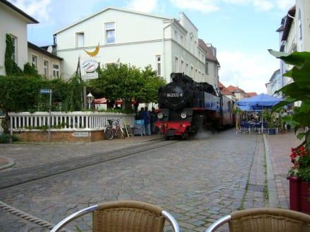 Molli in Bad Doberan - Bäderbahn Molli Bad Doberan - Kühlungsborn
