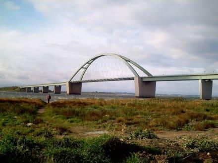 Fehmarnsund-Brücke - Fehmarnsundbrücke