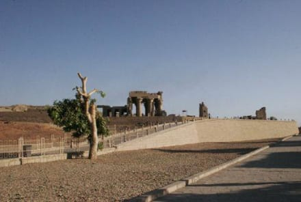 Horus und Sobek Tempel in Kom Ombo - Doppeltempel Kom Ombo