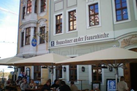 augustiner an der frauenkirche in dresden bild augustiner an der frauenkirche in dresden. Black Bedroom Furniture Sets. Home Design Ideas