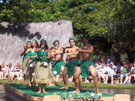 Vorführung im Hawaiian Culture Center auf Oahu - Hawaiian Culture Center