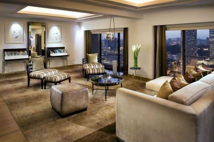 Presidential Suite Living Room -