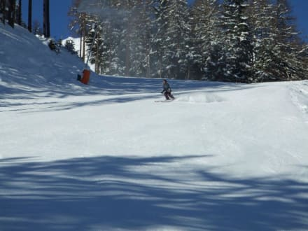 Talabfahrt vom Giggijoch nach Sölden - Skigebiet Sölden