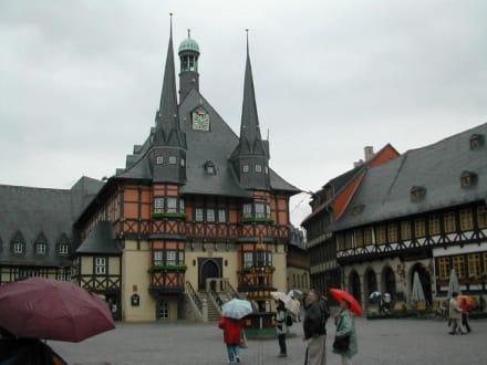 Rathaus in Wernigerode - Rathaus Wernigerode