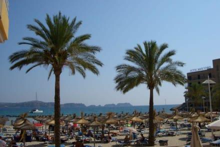Der Strand von Paguera - Strand Paguera/Peguera