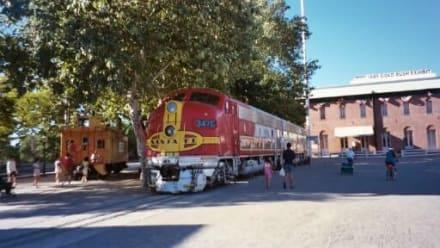 Historischer Zug - Old Sacramento